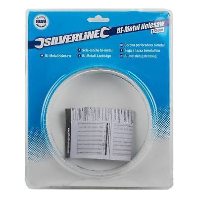 Silverline Bi-Metal Holesaw Set 9//22//29//38//44 /& 57mm Holesaw Hard Teeth 595759