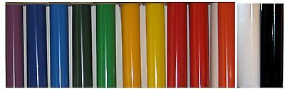 """One roll of 24"""" x 10 yards calendered self adhesive vinyl - choose your color!"""