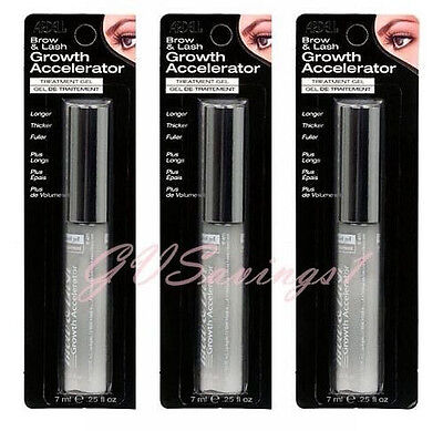 (LOT OF 3) Ardell Brow and & Lash Growth Accelerator Gel Serum Eyelash Treatment