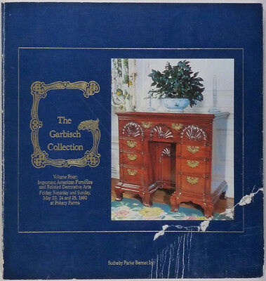 ANTIQUE AMERICAN COLONIAL FURNITURE -the GARBISCH COLLECTION -1980 CATALOG
