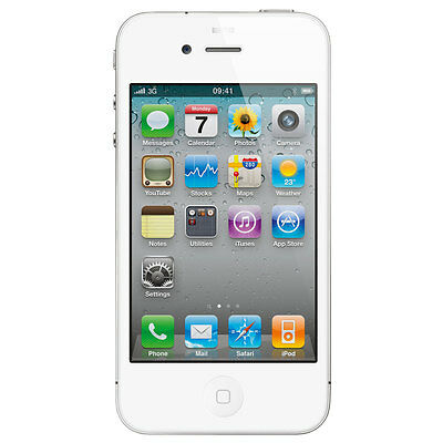 Apple iPhone 4 8GB Verizon Wireless A4 WiFi White Smartphone