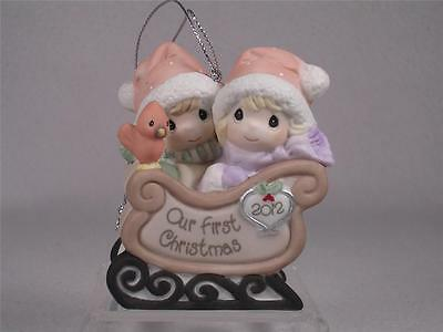 Precious Moments 'Our First Christmas Together'-2012 Dated Ornament #121004 NIB!