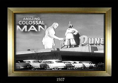 MAGNET  Movie Monster Photo Magnet The AMAZING COLOSSAL MAN 1957