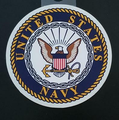 Us Navy 3 Inch Sticker - Made In The Usa!!