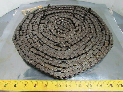 "Tsubaki RS40 513732 No 40 Single Strand Roller Chain 1/2"" Pitch Riveted 30 Ft"