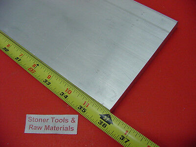 "1/2"" X 5"" ALUMINUM 6061 FLAT BAR 36"" long T6511 Solid .500"" Plate New Mill Stock"