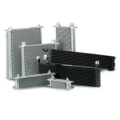 "Mocal Standard Duty Engine Oil Cooler 19 Row - 235mm - 1/2"" BSP Male"