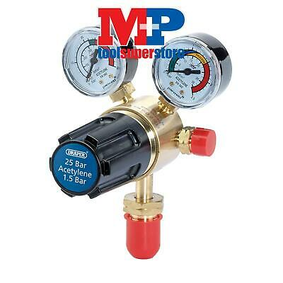 Draper 35008 25 Bar Acetylene Regulator