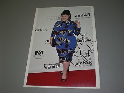 Beth Ditto Gossip signed signiert autograph Autogramm  20x28 Foto in person