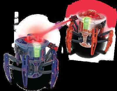 Hexbug Battle Spider Blue Remote Controlled With Infra-Red Laser Cannon