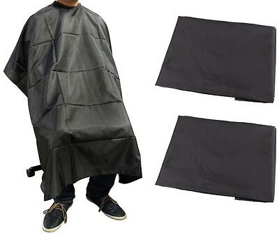 LOT 3~Salon Barber Hairdressing Gown Styling Cutting Hair Cape Cloth Wholesale