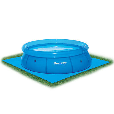 Bestway Flowclear Floor Pool Protector 8 Sheets 50cm x 50cm Durable BW58220
