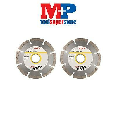 Bosch 2608615028 Angle Grinder Diamond Cutting Disc 125Mm 5 Inch **pack Of 2**