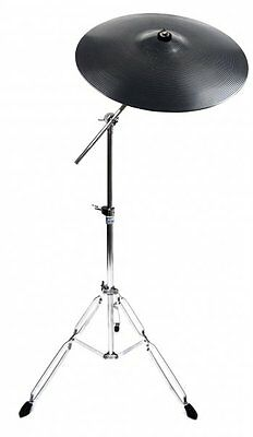 "Stagg 14"" Plastic Practice Crash Cymbal With Mapex Tornado Boom Cymbal Stand"
