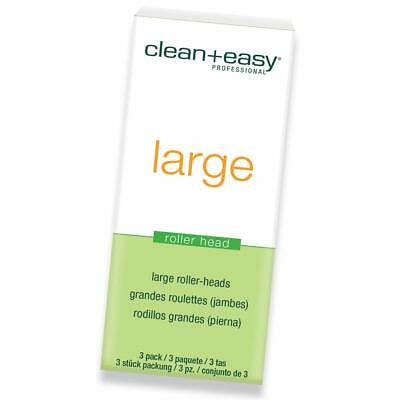 Clean + Easy Replacement Large Roller Head 3pk