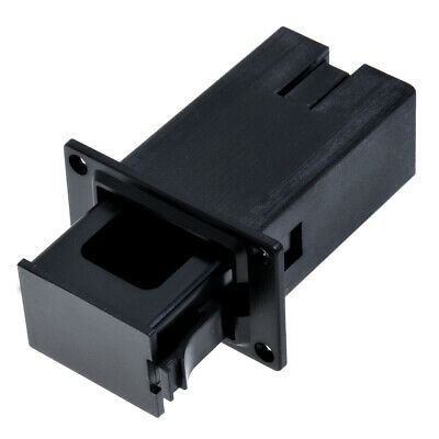 1Pc Black 9V Battery Holder/Case/Box Compartment Cover Case  Guitar&Bass Pickup