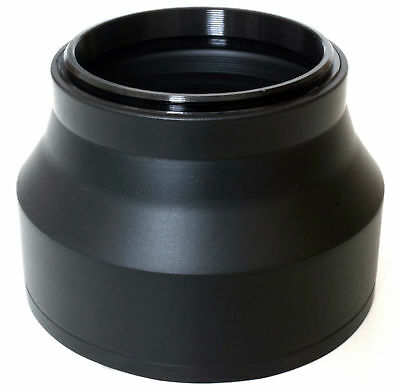 3 Position 3-Stage Rubber Lens Hood 58mm FOR nikon sony canon sigma pentax etc