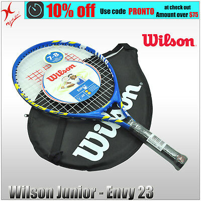 Wilson Tennis Racquet - Envy 23 Junior Racket - 23 Inch