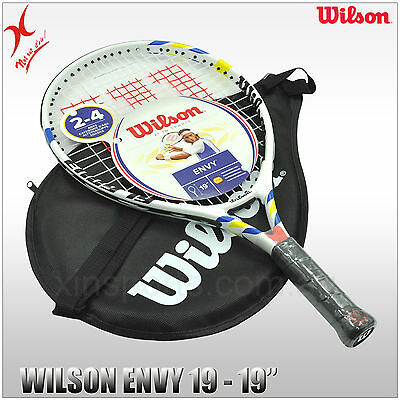 WILSON TENNIS RACQUET - ENVY 19 JUNIOR RACKET - 19 INCH for Kids 2-4 years old
