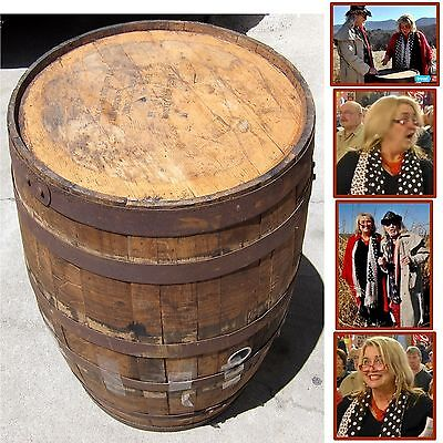 JACK DANIEL'S DISTILLERY Original OAK WHISKEY BARREL Tennessee BAGGAGE BATTLES