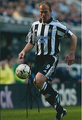 Alan SHEARER Signed Autograph Photo AFTAL COA Newcastle United Captain Legend