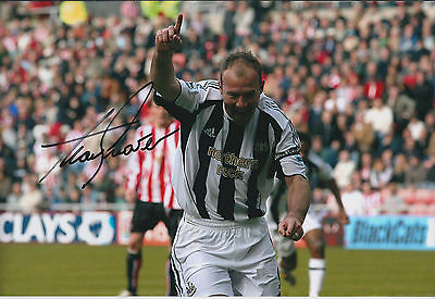 Alan SHEARER Signed Autograph Photo AFTAL COA Newcastle United Football Pundit