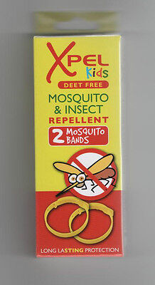 Xpel Kids Mosquito & Insect Repellent Wrist/Ankle Bands - Free Post & Pack