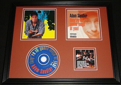 Adam Sandler 1993 They're All Gonna Laugh At You Framed 11x14 CD & Photo Display