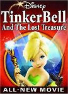 Tinker Bell And The Lost Treasure DVD Movie Video Walt Disney Pixie children's