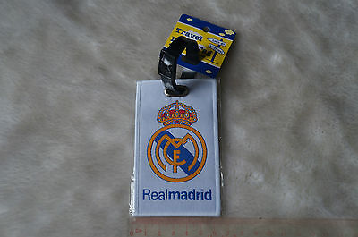 kiTki spain real marid luggage baggage tag card football soccer club accessories