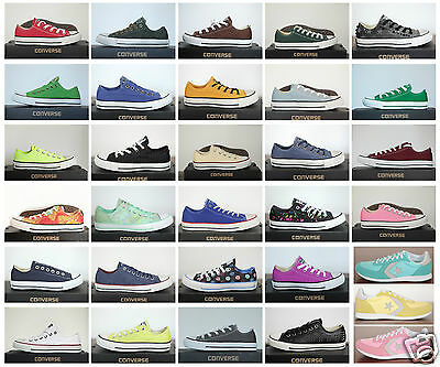 NEU ALL STAR Converse Chucks Low Leinen Damen Herren Sneaker