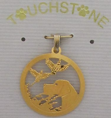 Pointer Jewelry Gold Pendant by Touchstone