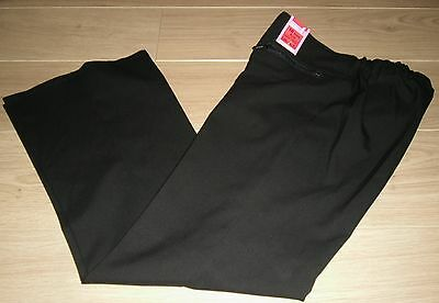 **BNWT** REDUCED TO CLEAR ~ MARKS /& SPENCER SCHOOL TROUSERS ~ BLACK ~ AGE 12