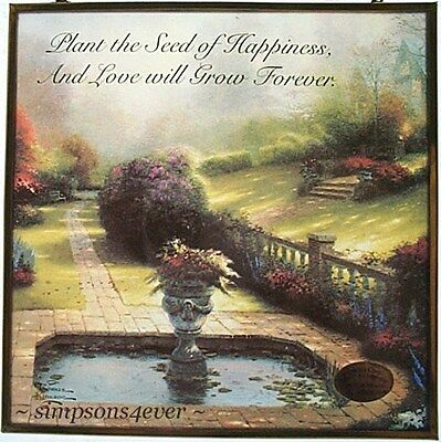 Gardens Beyond Autumn Gate Thomas Kinkade Card With Message