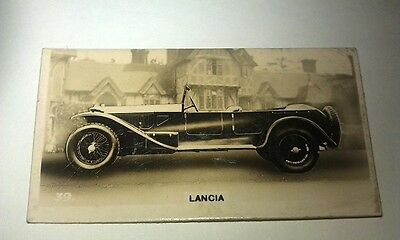 LANCIA LAMBDA   -  Wills New Zealand Real Photo Cigarette Card Issued 1926