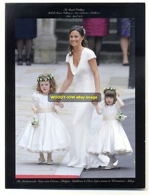 q801 - Catherine Middletons Bridesmaids - Royalty postcard