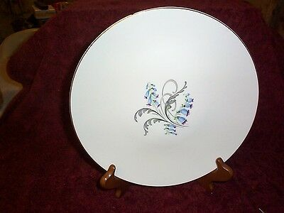 Vintage knowles, bluebell dinner plate 10 1/4th
