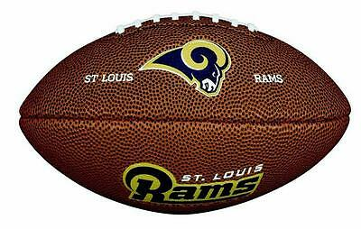 St.Louis Rams Football NFL Soft Touch Ball,Wilson Collector,1/2 Size