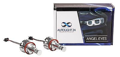 BMW X5 E70 X6 E71 40 Watt LED Angel Eyes Cree Chip Marker Corona Ringe H8 a1