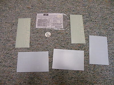 Walthers decals  O Gauge Union Pacific combined freight white  J90