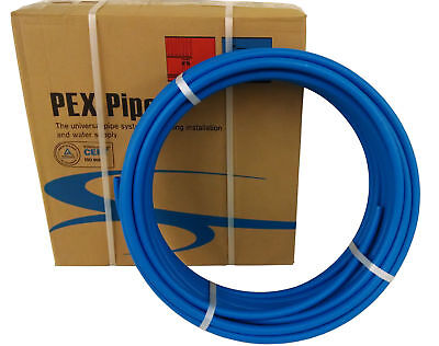 "1"" x 100ft Blue Pex Tubing/Pipe Pex-B 1-inch 100 ft Potable Water NonBarrier"