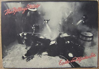 TH470 - CP POSTCARD ROLLING STONES exile on main street - Scene 12