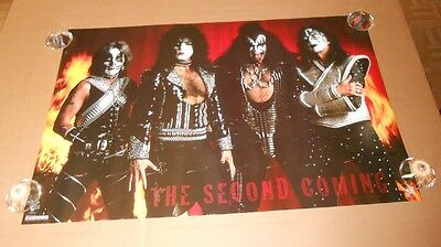 Kiss The Second Coming 1996 Original Poster 24 x 36