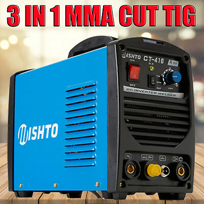 MISHTO CT416 TIG MMA Plasma Cut Welder Inverter Cutter Portable Stick Welding