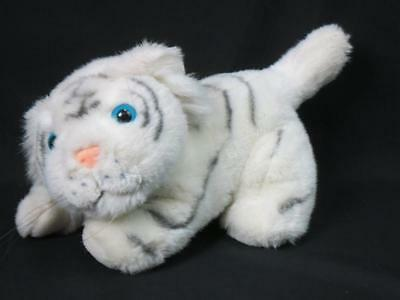 Siegfried And Roy Las Vegas Mirage Show Blue-Eyed White Baby Tiger Cub Plush 12""