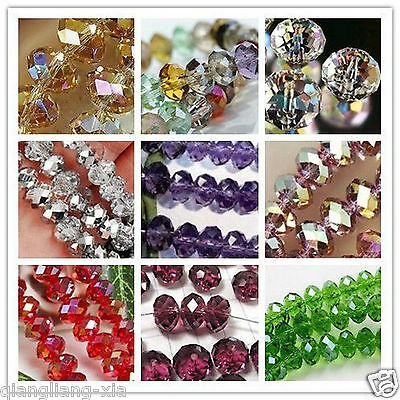 Wholesale! New 18 Colors Crystal Gemstone Loose Beads 4-12mm