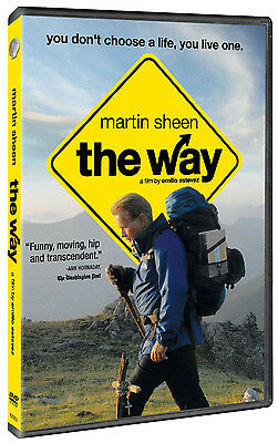 The Way DVD 2012 - Martin Sheen Free Shipping !!!Brand !!!New!!!