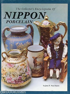 Japanese Nippon Hand Painted Porcelain - History Patterns Marks / Book + Values