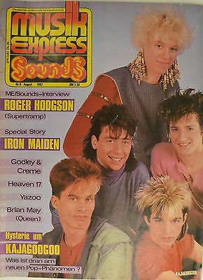 Sounds / Musikexpress 8/1983 Iron Maiden - Kajagoogoo - Af492