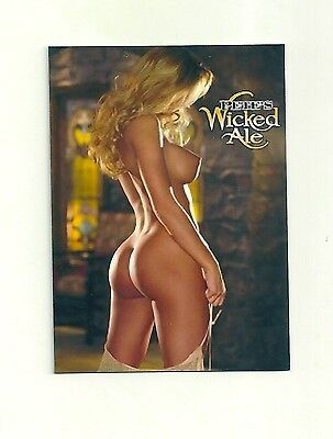 SEXY GIRL WICKED ALE, BEER    HQ  FRIDGE MAGNET  *02